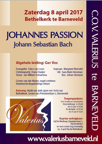 Zing mee met de Johannes Passion
